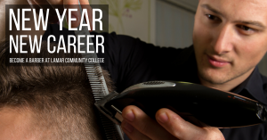 New year, new career - Barber