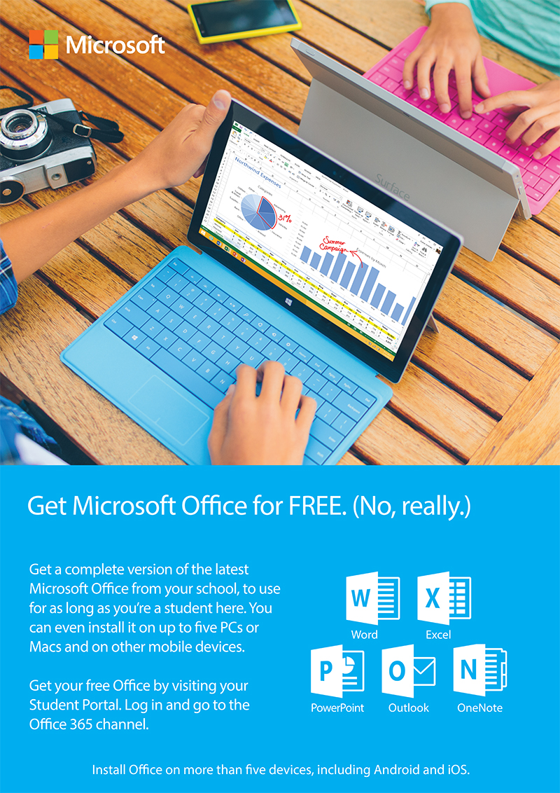 Office 365 Alternate StudentPortal Ad