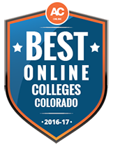 Affordable Colleges Online 2016-2017 Badge