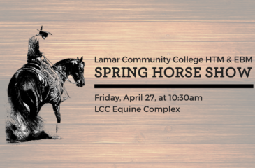 Spring Horse Show, April 27 at 10:30am at the Equine Complex