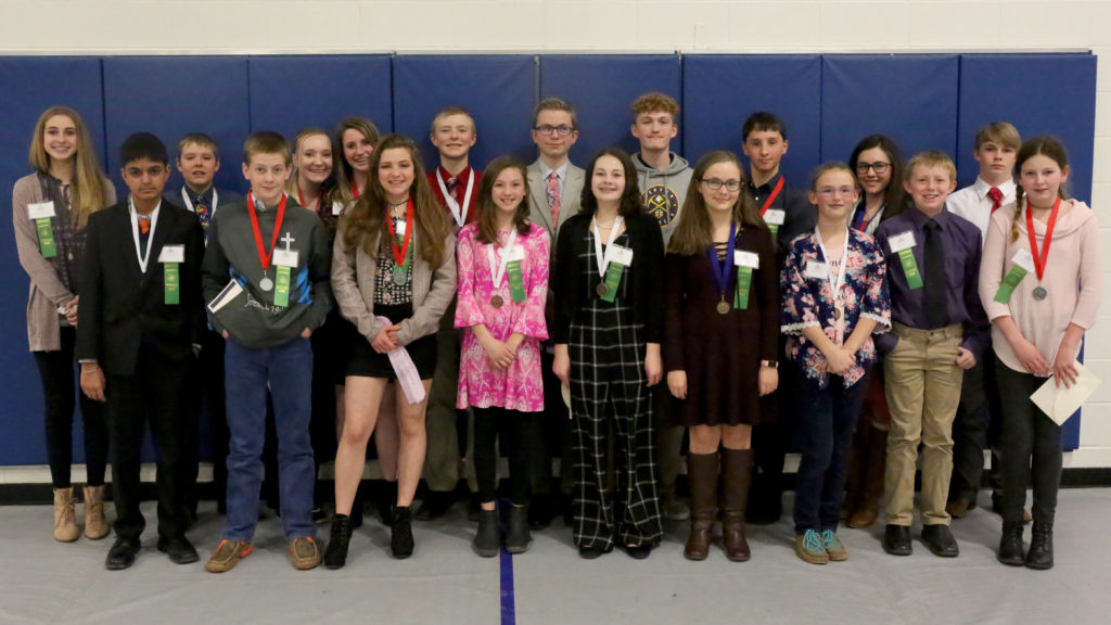 Science Fair winners 2019