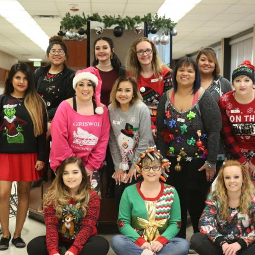 Ugly Sweater Party, Fall 2017